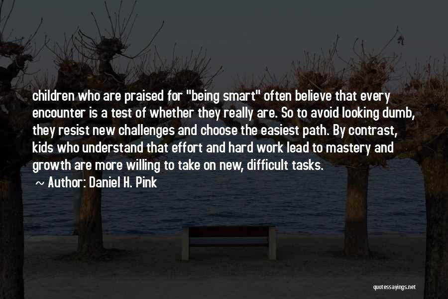 Challenges And Growth Quotes By Daniel H. Pink