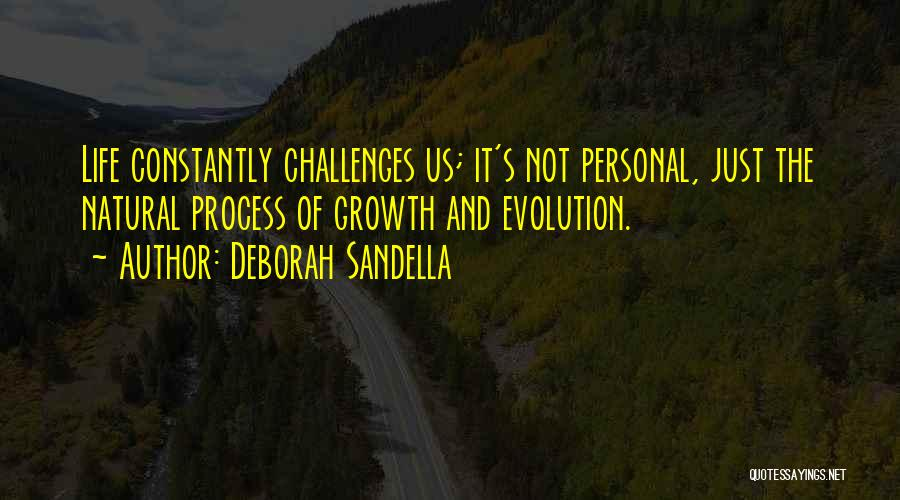 Challenges And Growth Quotes By Deborah Sandella