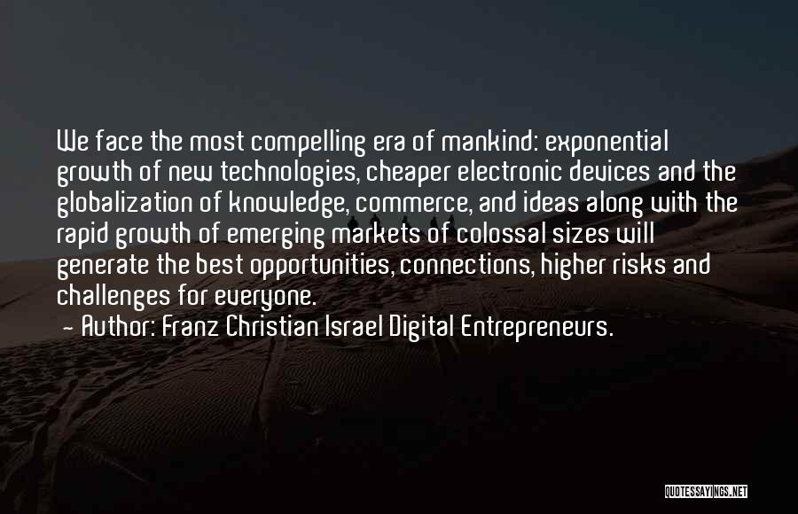Challenges And Growth Quotes By Franz Christian Israel Digital Entrepreneurs.