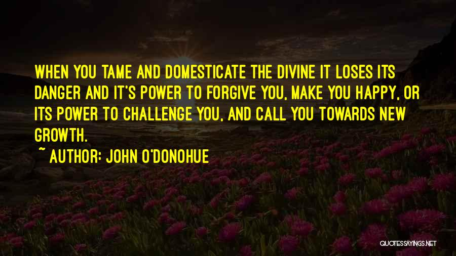 Challenges And Growth Quotes By John O'Donohue