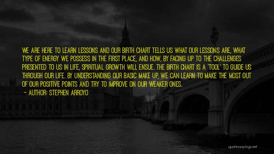 Challenges And Growth Quotes By Stephen Arroyo