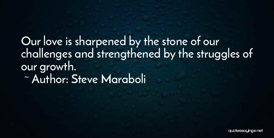 Challenges And Growth Quotes By Steve Maraboli