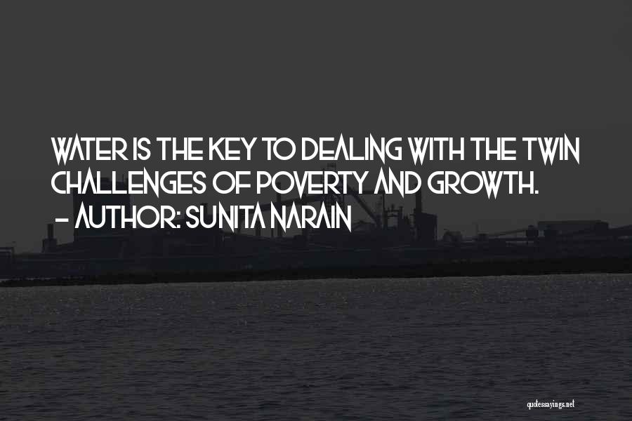 Challenges And Growth Quotes By Sunita Narain