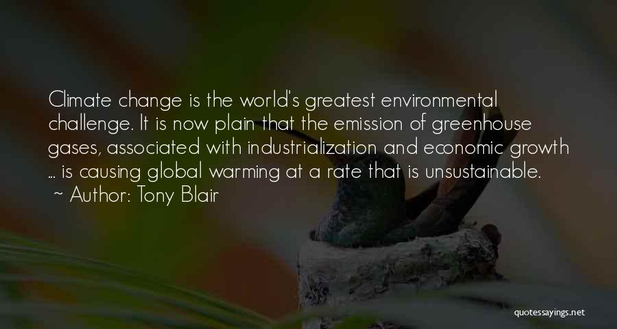 Challenges And Growth Quotes By Tony Blair