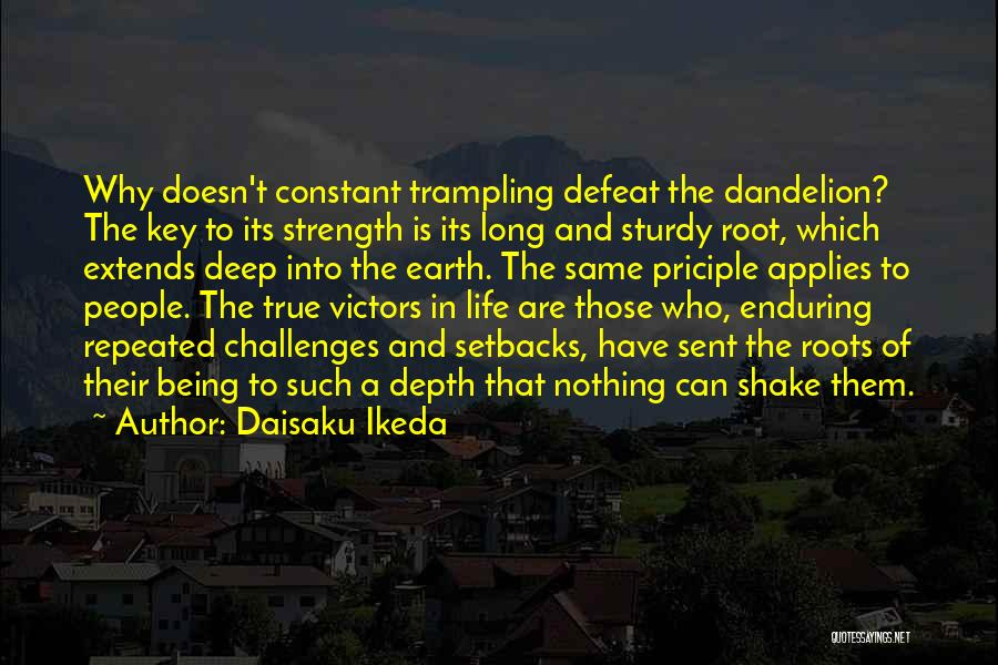 Challenges And Strength Quotes By Daisaku Ikeda