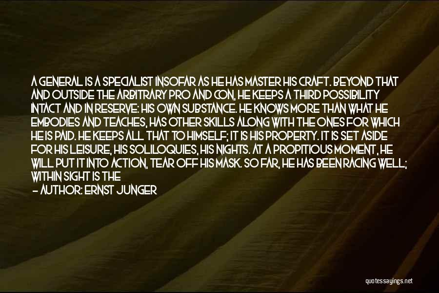 Challenges And Strength Quotes By Ernst Junger
