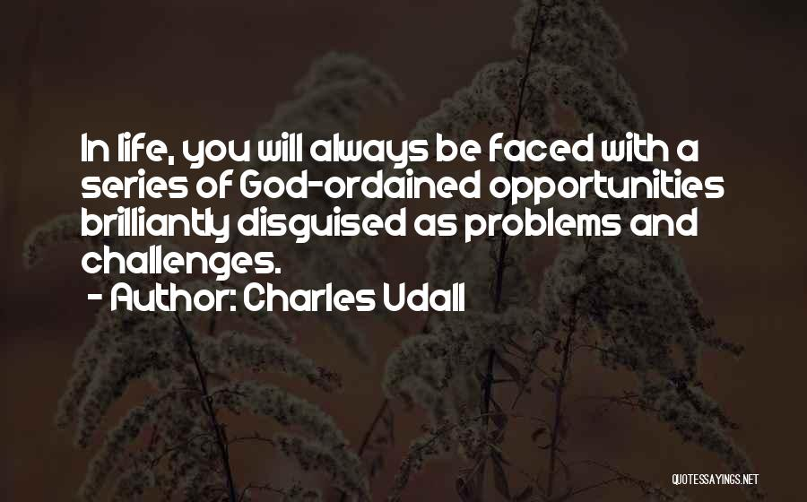 Challenges Into Opportunities Quotes By Charles Udall