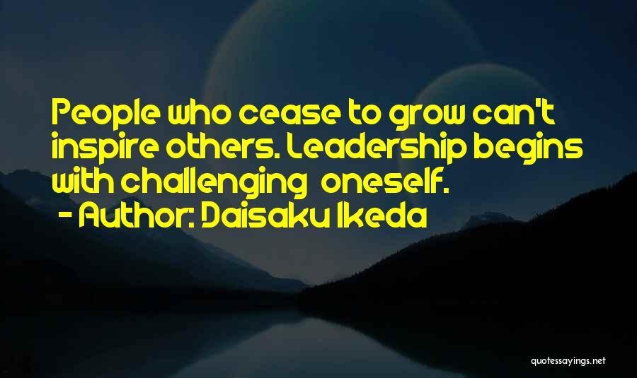 Challenging Oneself Quotes By Daisaku Ikeda