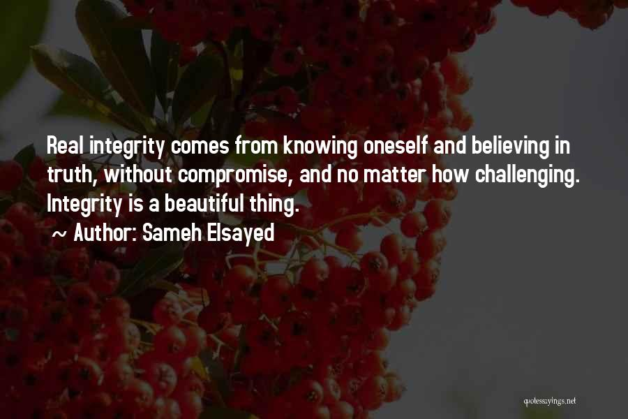 Challenging Oneself Quotes By Sameh Elsayed