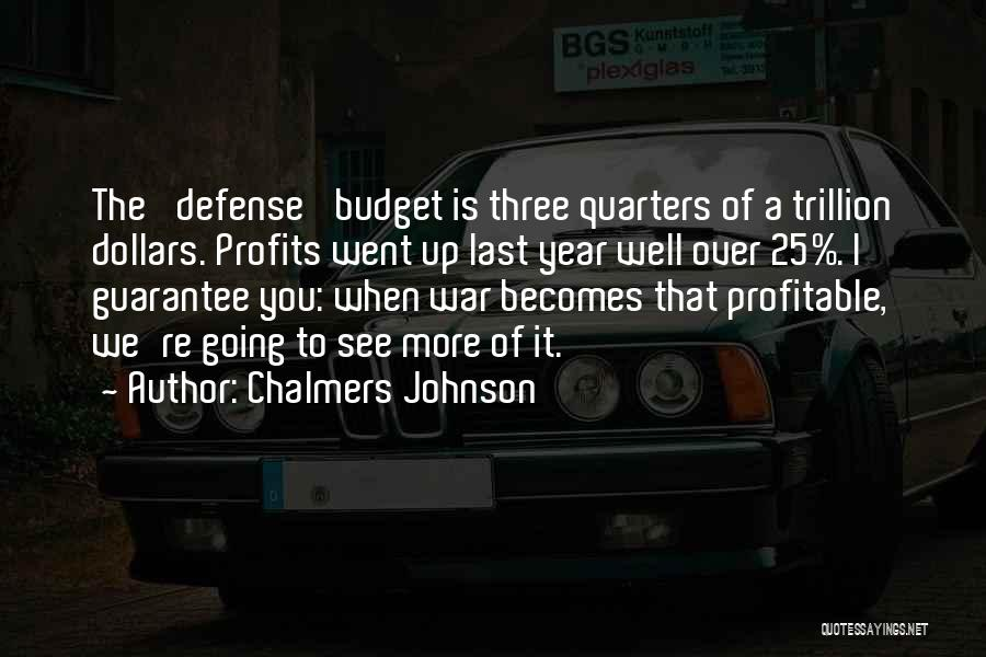 Chalmers Johnson Quotes 214479