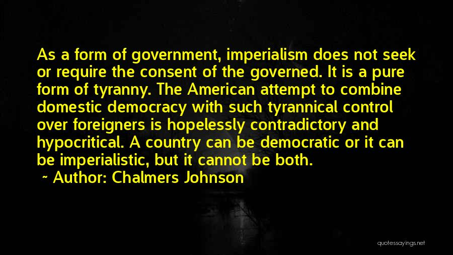 Chalmers Johnson Quotes 891282