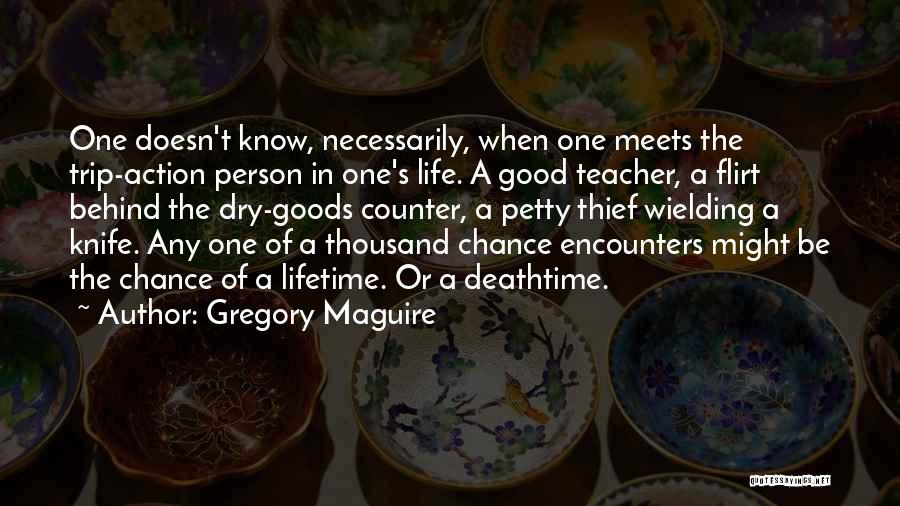 Chance Encounters Quotes By Gregory Maguire