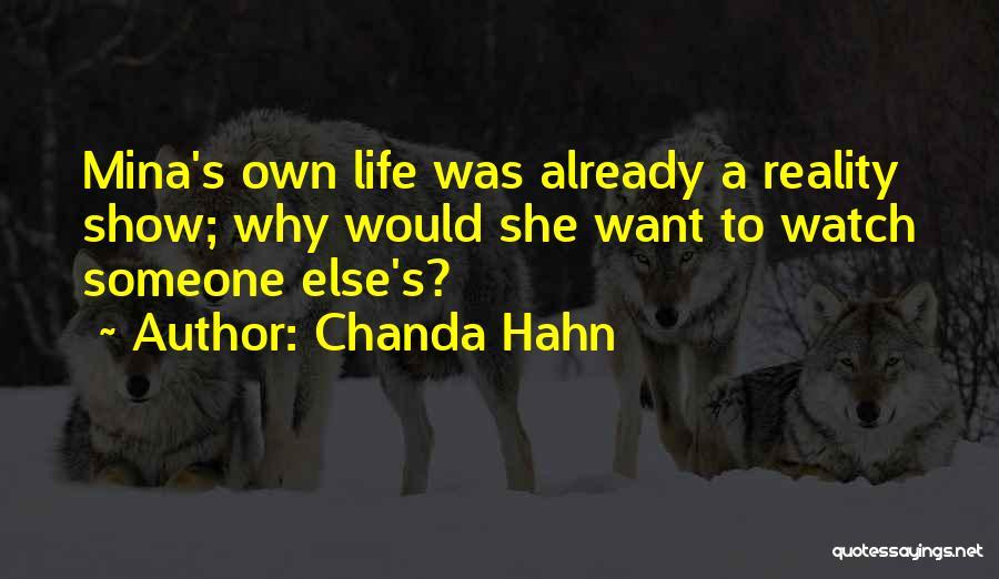 Chanda Hahn Quotes 1059115