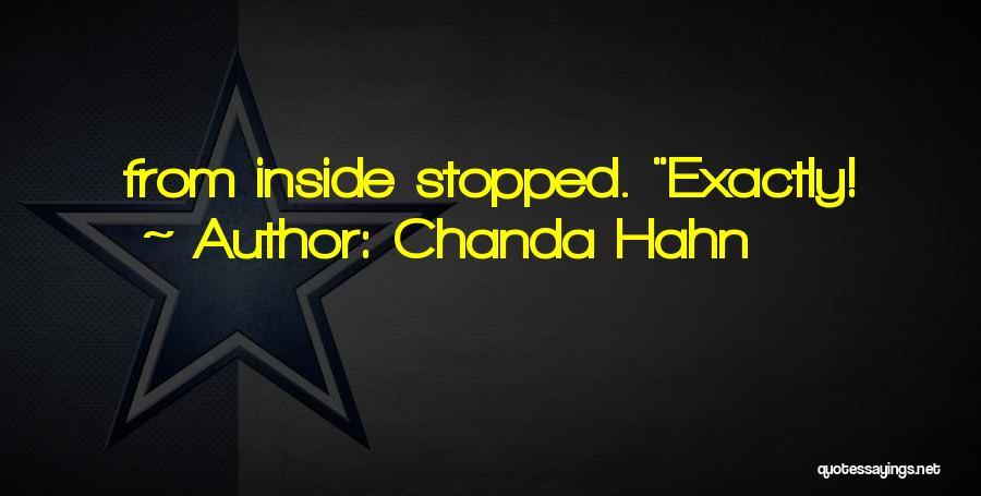 Chanda Hahn Quotes 1112585