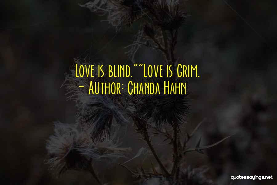 Chanda Hahn Quotes 1265233