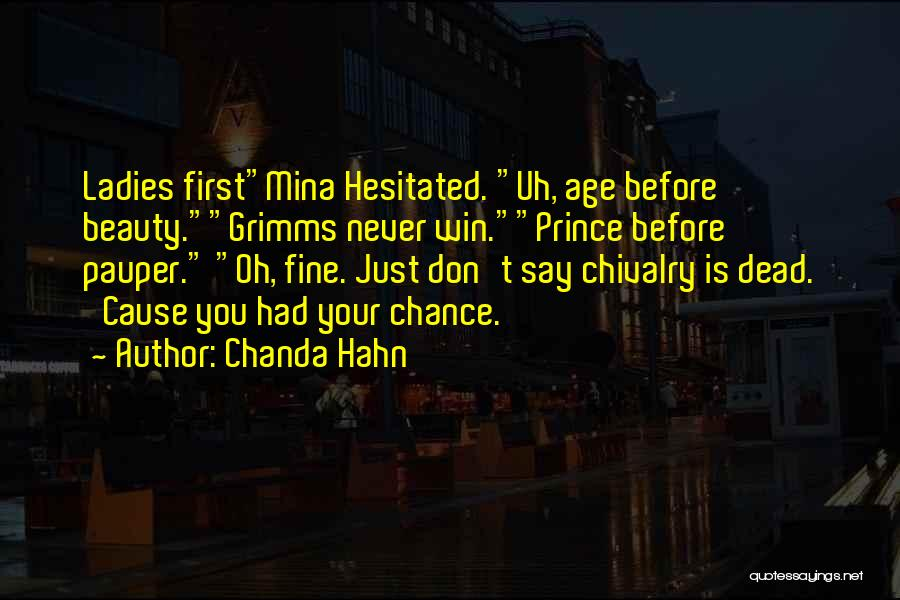 Chanda Hahn Quotes 1266861