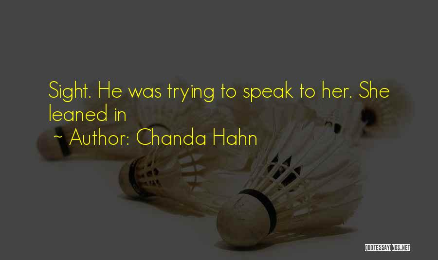 Chanda Hahn Quotes 1388801