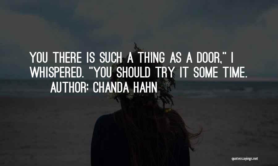 Chanda Hahn Quotes 1454360