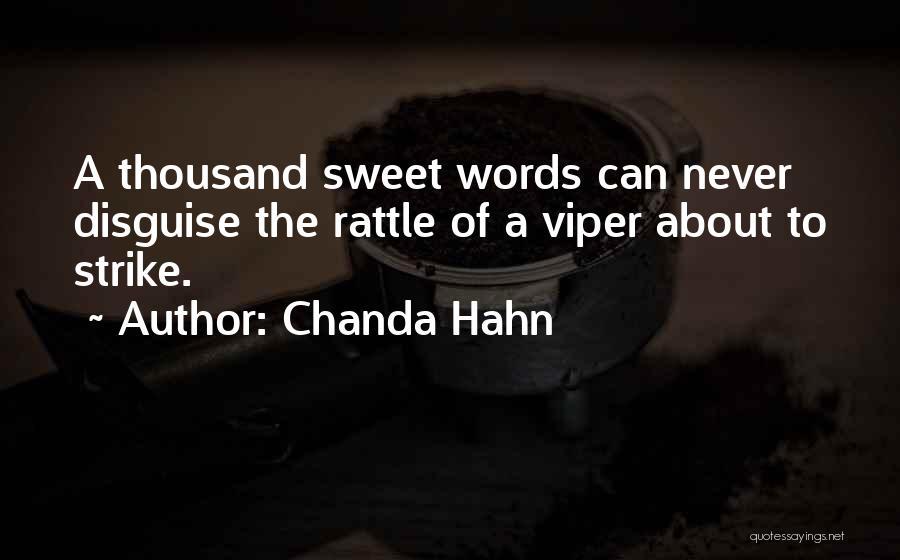 Chanda Hahn Quotes 1681512