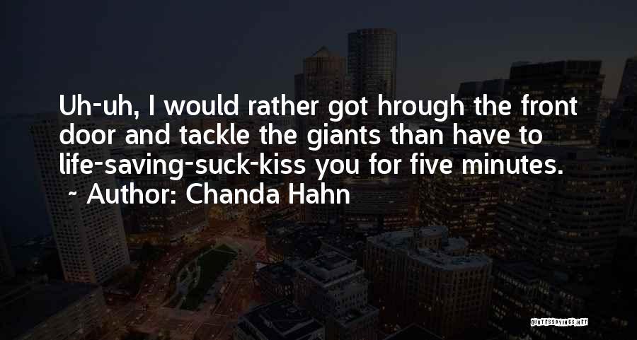 Chanda Hahn Quotes 1739088