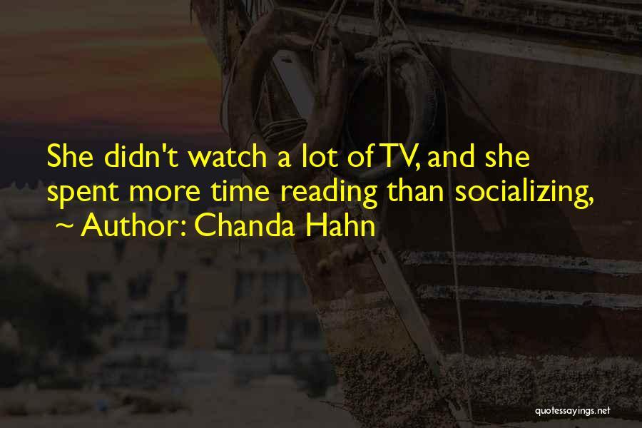 Chanda Hahn Quotes 1771861