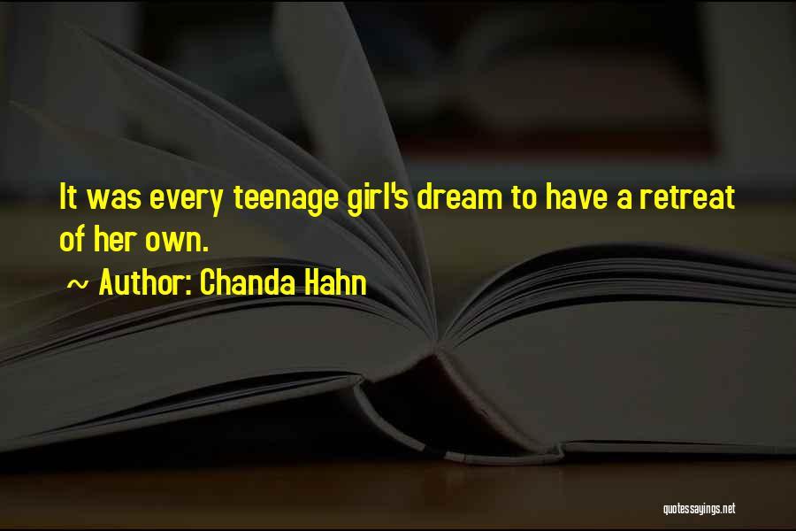 Chanda Hahn Quotes 1908525