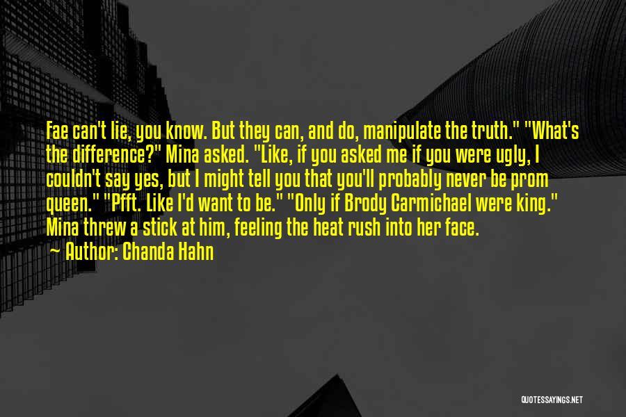 Chanda Hahn Quotes 1926299