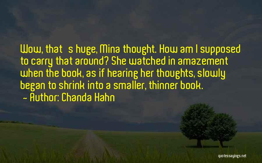 Chanda Hahn Quotes 1992001