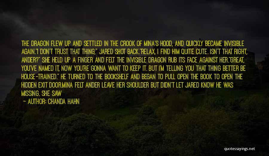 Chanda Hahn Quotes 258225