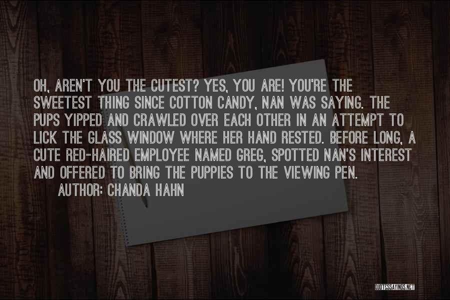 Chanda Hahn Quotes 304684