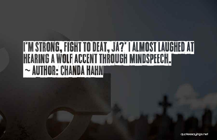 Chanda Hahn Quotes 369324