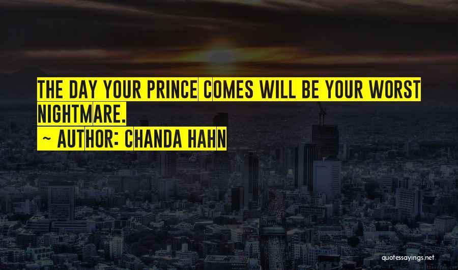 Chanda Hahn Quotes 386207