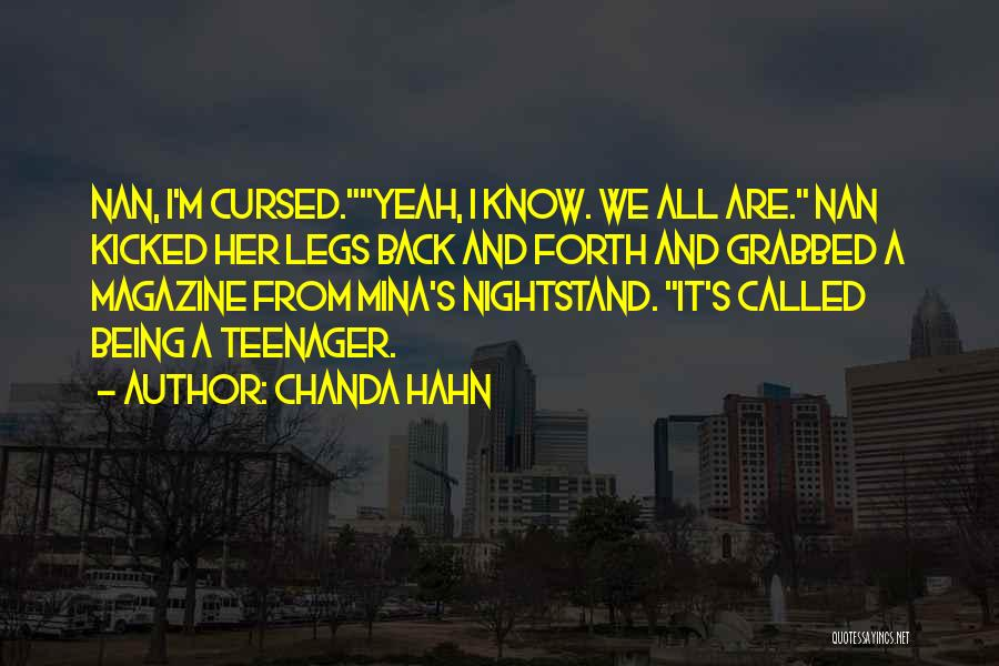 Chanda Hahn Quotes 402513