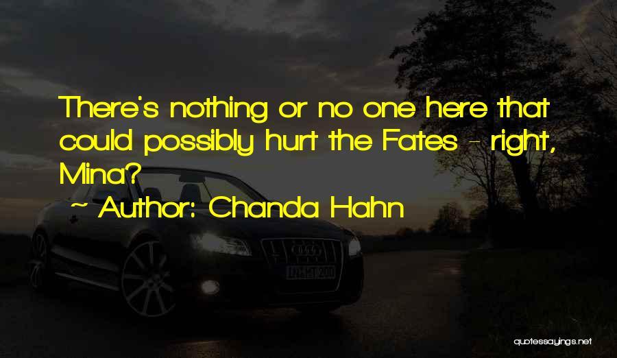 Chanda Hahn Quotes 601603