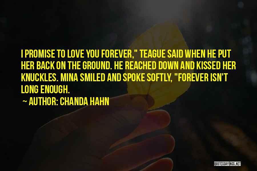 Chanda Hahn Quotes 801445