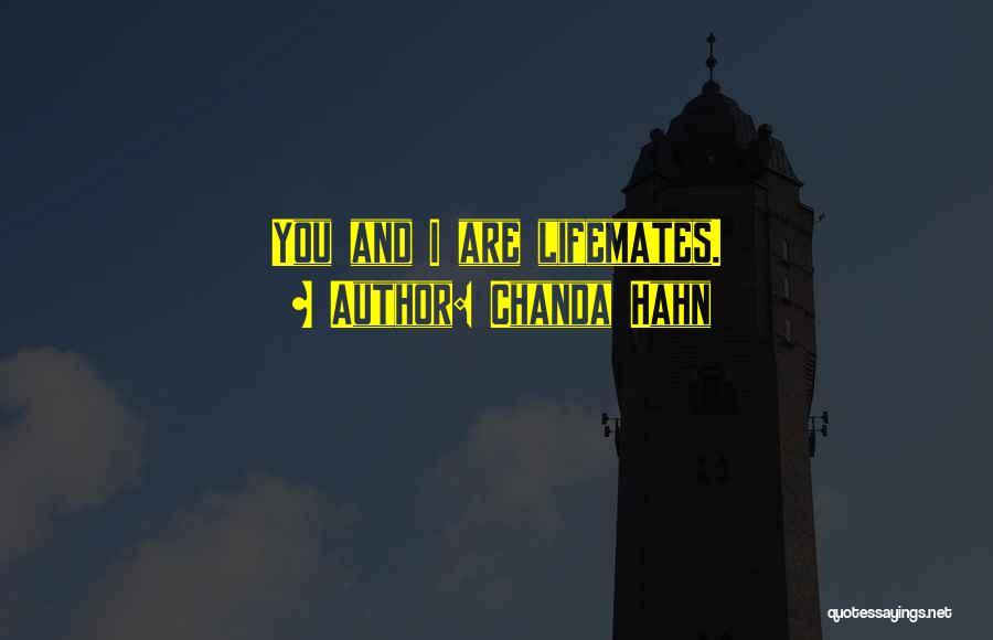 Chanda Hahn Quotes 862743