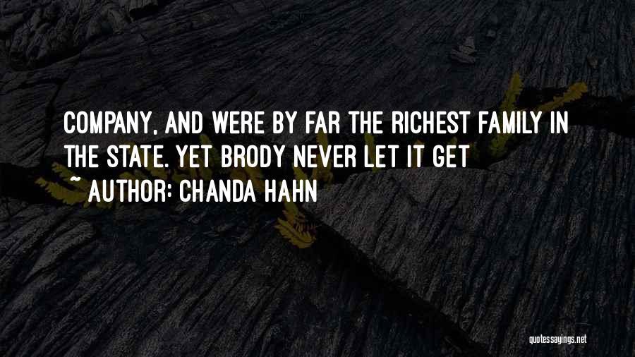 Chanda Hahn Quotes 925124