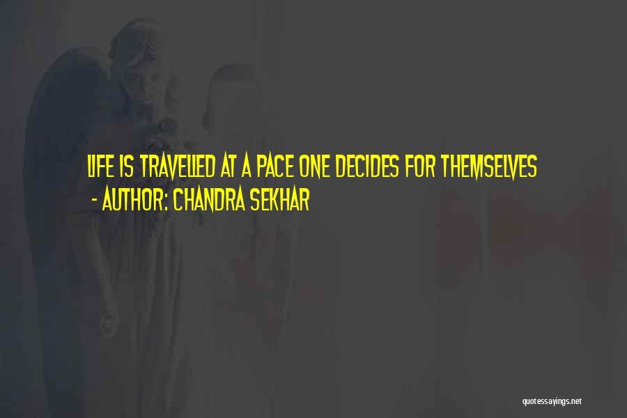 Chandra Sekhar Quotes 147275