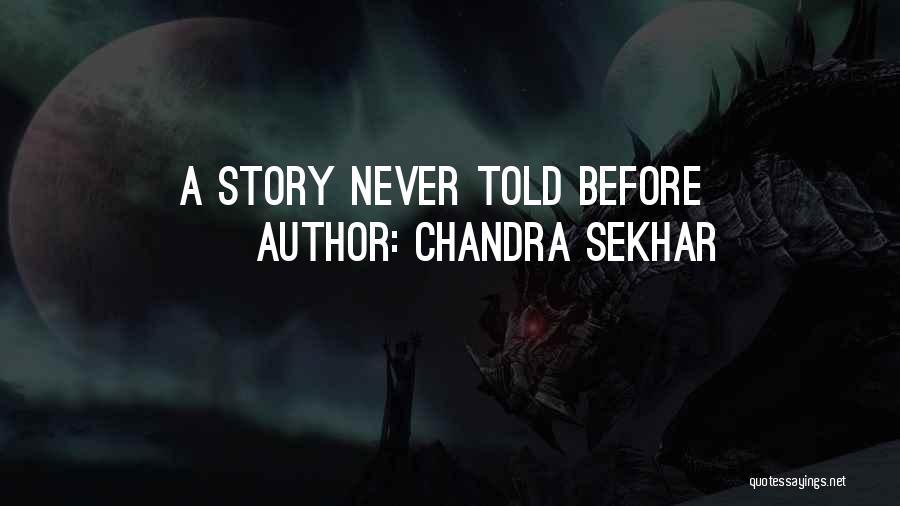 Chandra Sekhar Quotes 1496838