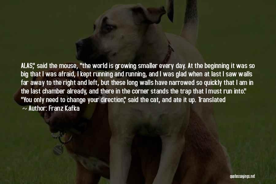 Change And Growing Up Quotes By Franz Kafka