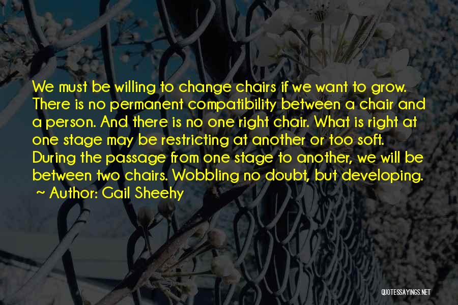 Change And Growing Up Quotes By Gail Sheehy
