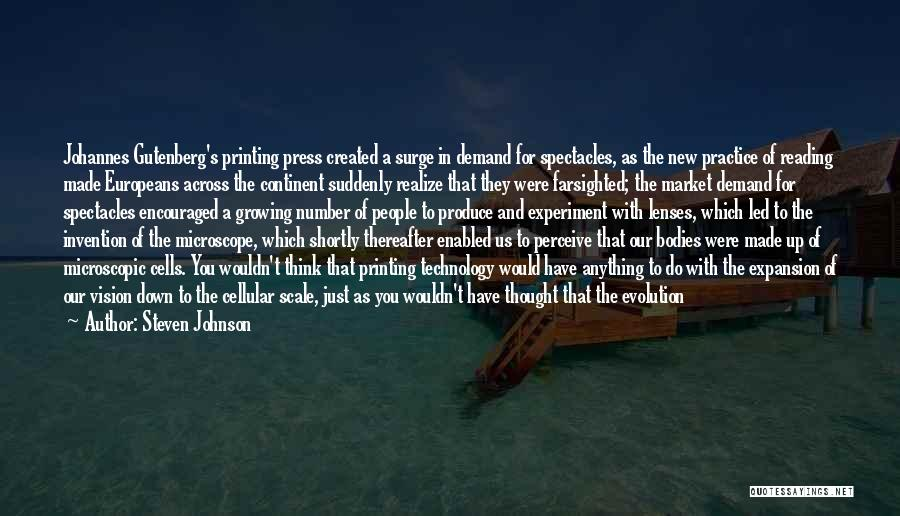 Change And Growing Up Quotes By Steven Johnson