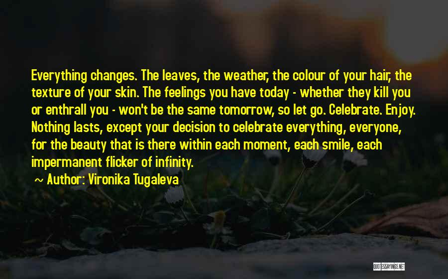 Change And Impermanence Quotes By Vironika Tugaleva