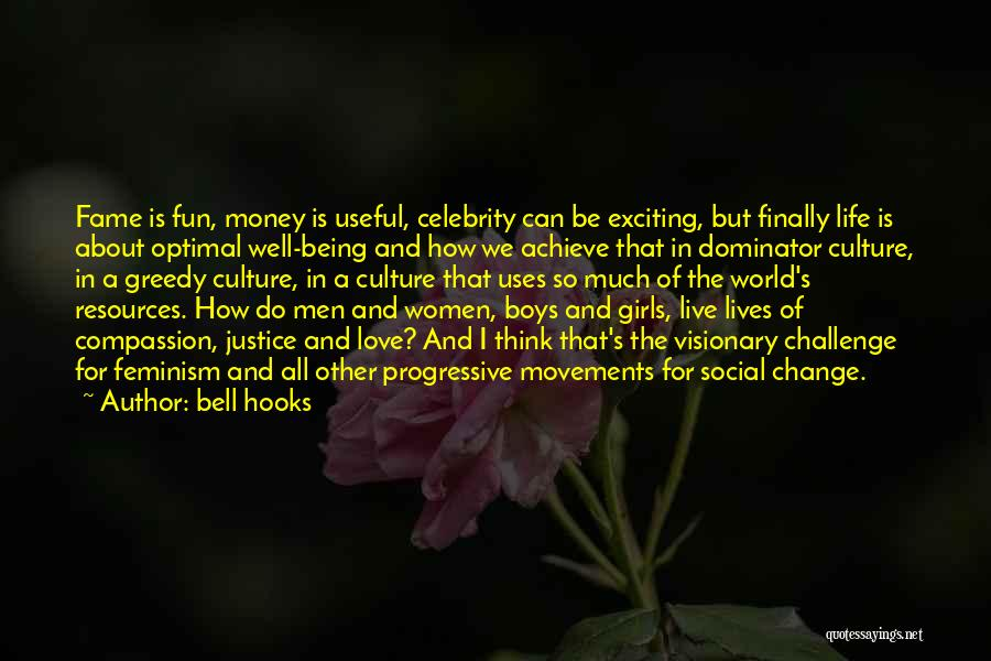 Change In Love Quotes By Bell Hooks