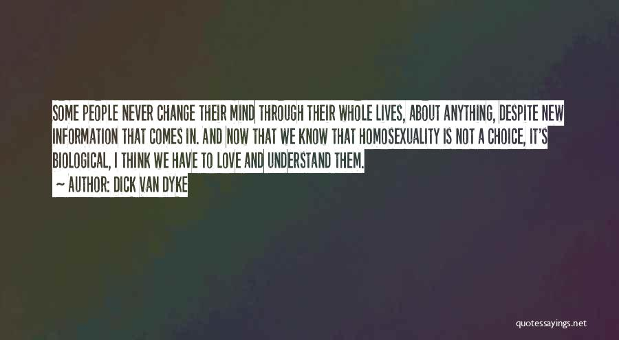 Change In Love Quotes By Dick Van Dyke