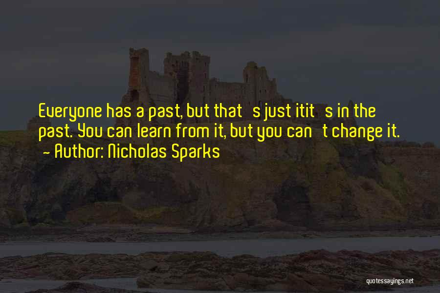 Change In Love Quotes By Nicholas Sparks