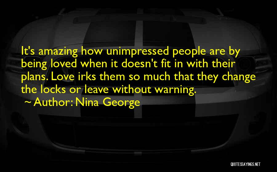 Change In Love Quotes By Nina George