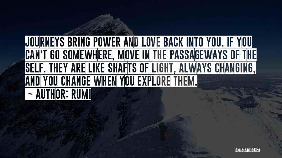 Change In Love Quotes By Rumi