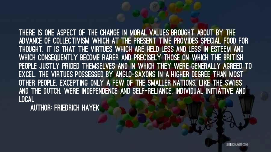 Change Initiative Quotes By Friedrich Hayek