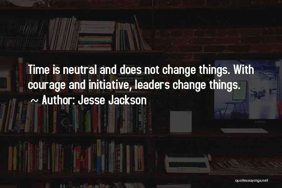 Change Initiative Quotes By Jesse Jackson